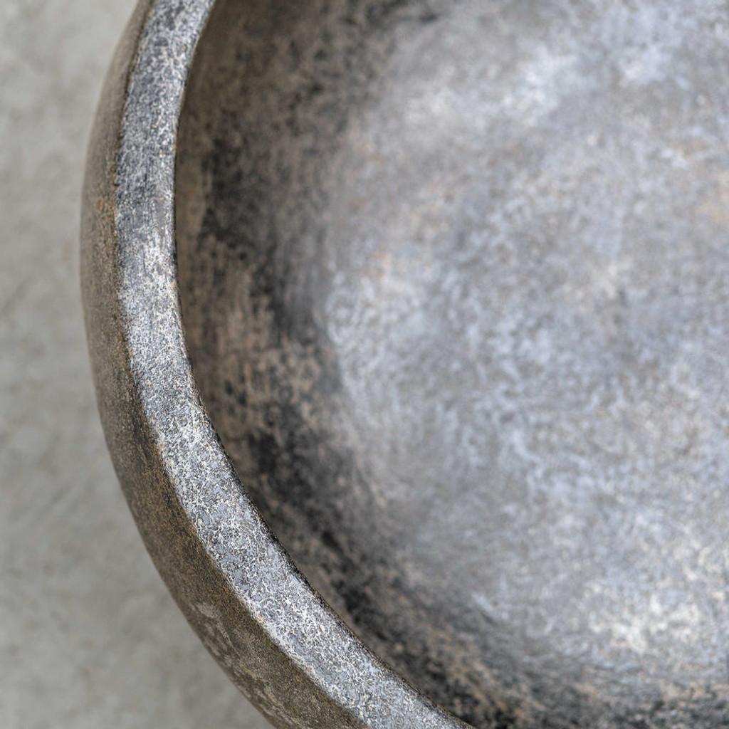 Brixton Aged Black Bowl