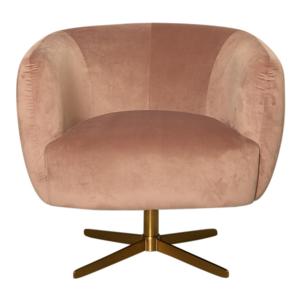 Bronte Swivel Chair Rose