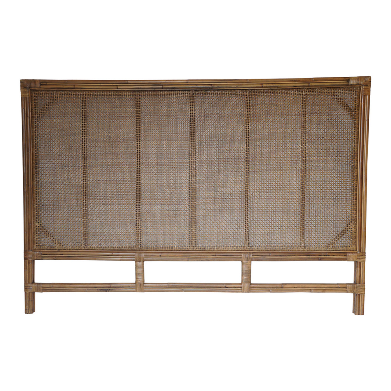 Montego Rattan Bedhead King By Maison Living Maison Living