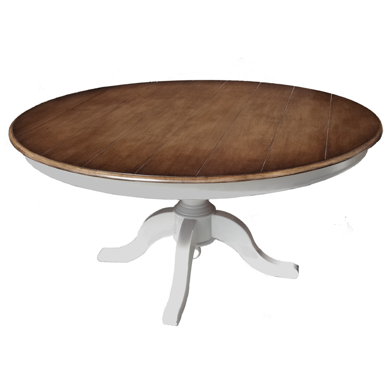 Farmhouse Round Dining Table 150cm Size 76h X 152w X 152d Cm Furniture Dining Dining Table