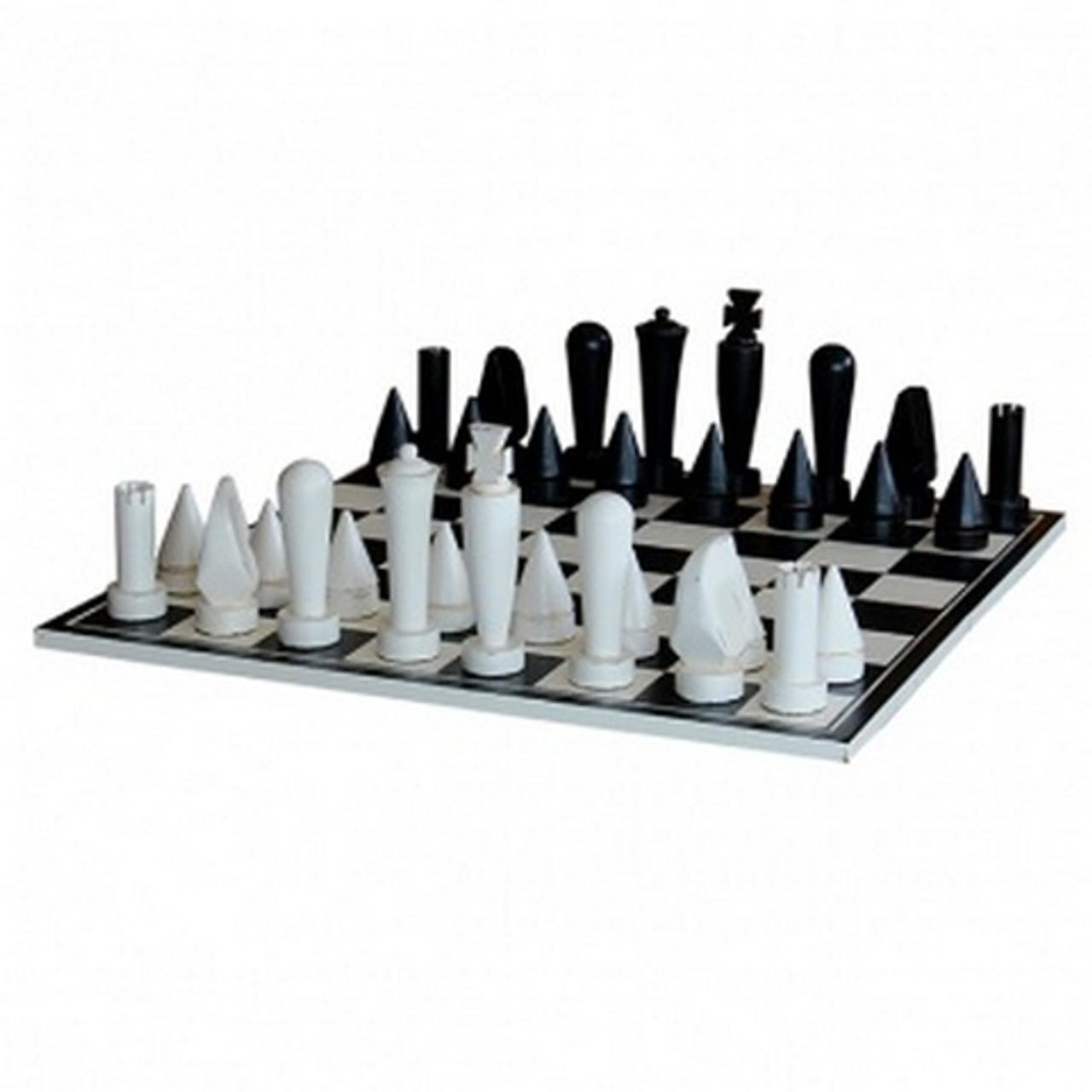 Modern Chess Set Size 80h X 80w X 28d Cm Leisure Chess Sets