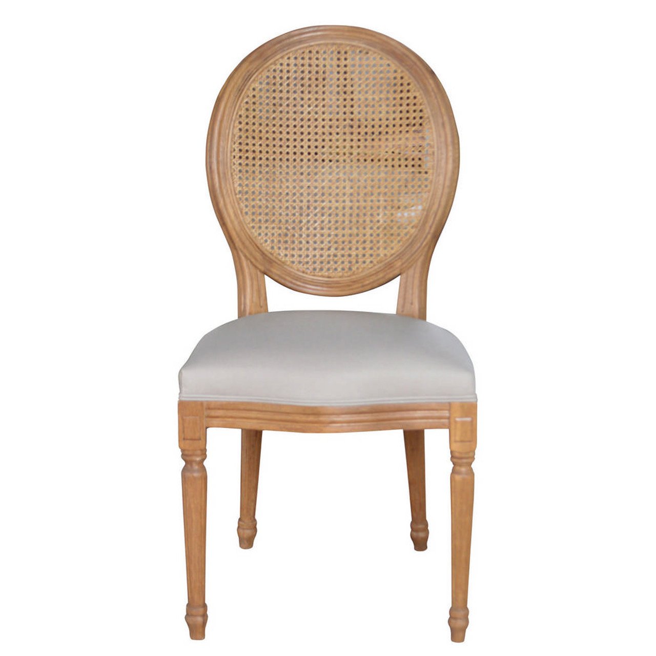 Picture of: Ballon Rattan Back Dining Chair Maison Living