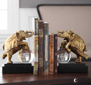 Circus Act Bookends S/2 by Uttermost