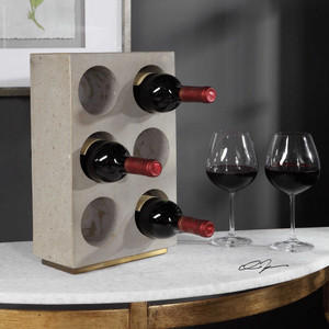 Kye Wine Holder by Uttermost