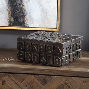 Typesetting Box by Uttermost