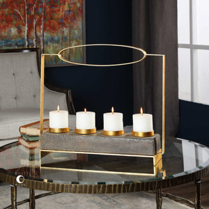 Amrit Candleholder by Uttermost