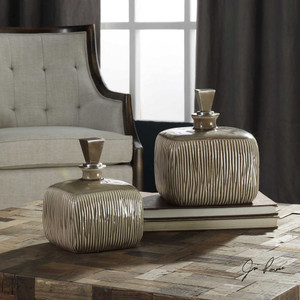 Cayson Bottles S/2 by Uttermost