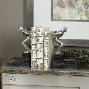 Endurance Bookends S/2 by Uttermost