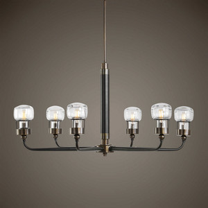 Graham6 Lt. Chandelier by Uttermost