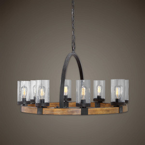 Atwood 8 Lt. Pendant by Uttermost
