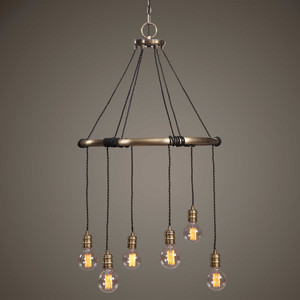 Milo 6 Lt. Chandelier by Uttermost
