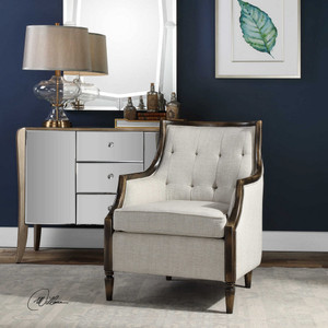 Barraud Accent Chair by Uttermost