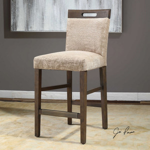 Christelle Counter Stool by Uttermost