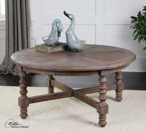 Samuelle Coffee Table by Uttermost
