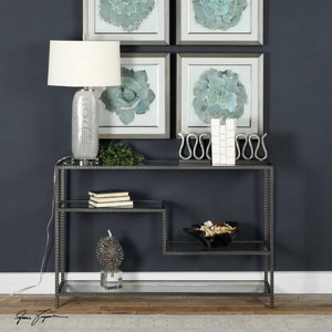 Leo Console Table by Uttermost