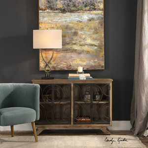Tatum Accent Cabinet by Uttermost