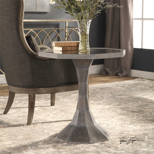Aharon Lamp Table - by Uttermost