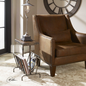 Sonora Magazine Side Table by Uttermost