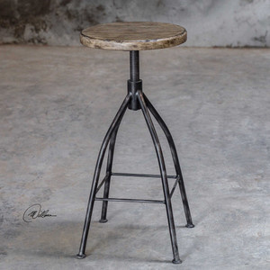 Dalvin Pub Stool by Uttermost