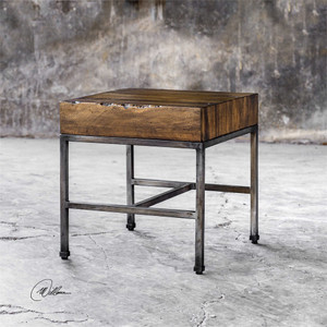 Delsin End Table - by Uttermost