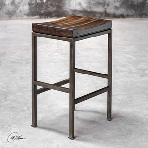 Beck Bar Stool by Uttermost
