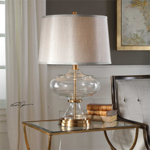 Jelani Brass Table Lamp - by Uttermost