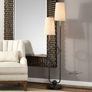Riano Floor Lamp by Uttermost