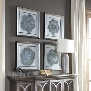 Natural Beauties Framed Prints S/4 by Uttermost