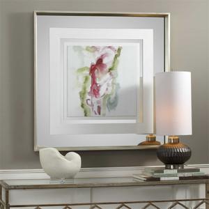 Minimalist Fuchsia Framed Print - by Uttermost