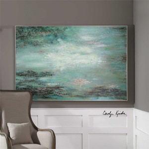 Restless Skies Hand Painted Canvas - by Uttermost