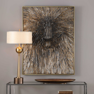 Mysterious Hand Painted Canvas by Uttermost