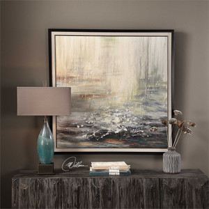 Squall Hand Painted Canvas - by Uttermost