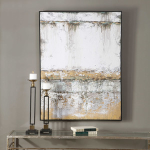 The Wall Hand Painted Canvas by Uttermost
