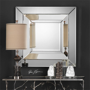 Achaius Square Mirror - by Uttermost