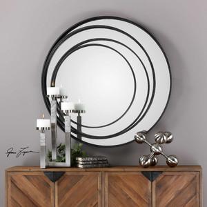 Spirala Round Mirror by Uttermost