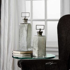 Riya Bottles S/2 by Uttermost