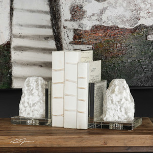 Avani Bookends S/2 - by Uttermost