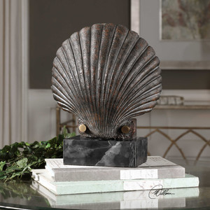 Scallop Shell Sculpture by Uttermost
