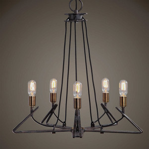Enoch 5 Lt Chandelier by Uttermost