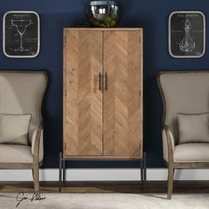 Hannah Bar Cabinet by Uttermost