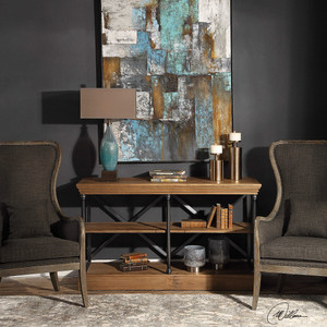 Tamar 3 Shelf Console by Uttermost