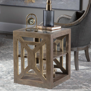Evander Side Table by Uttermost
