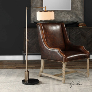 Janais Floor Lamp by Uttermost