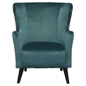 Jasper Accent Chair - Green Velvet by Maison Living