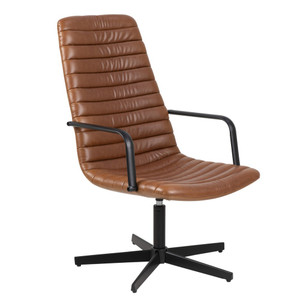Kanye Swivel Arm Chair by Maison Living