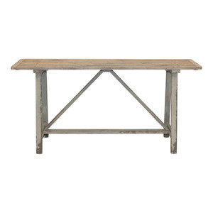 Alda Rustic Timber Console by Maison Living
