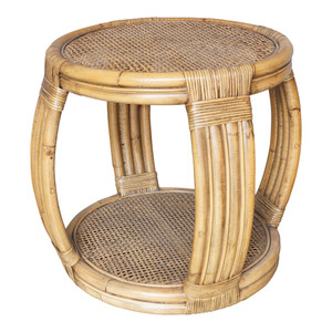 Montego Rattan Side Table by Maison Living