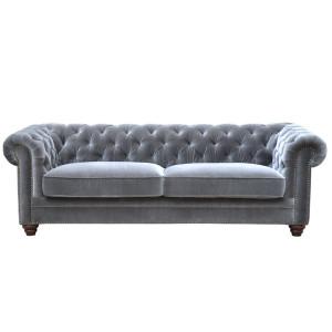 Julius 3 Seat Sofa - Light Grey by Maison Living