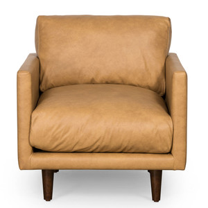 Casper Armchair - Tan Leather by Maison Living