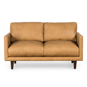 Casper 2 Seat Sofa - Tan Leather by Maison Living